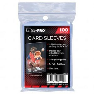 Ultra Pro : 100 sleeves Transparent Soft