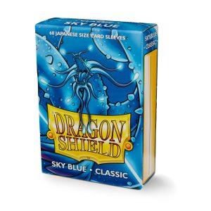 Dragon Shield : 60 sleeves Sky Blue Matte – format japonais