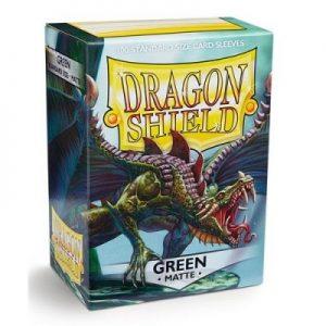 Dragon Shield : 100 Shield Matte Green