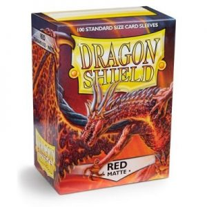 Dragon Shield : 100 Shield Matte Red