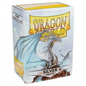 Dragon Shield : 100 Shield Matte Silver