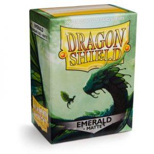 Dragon Shield : 100 Shield Matte Emerald