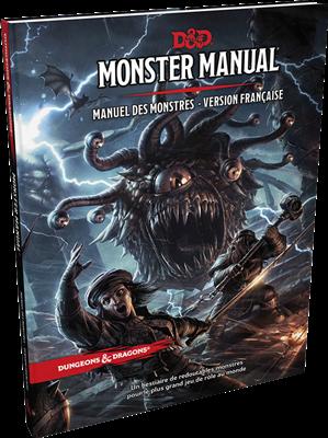 Dungeons & Dragons 5 – Manuel des Monstres
