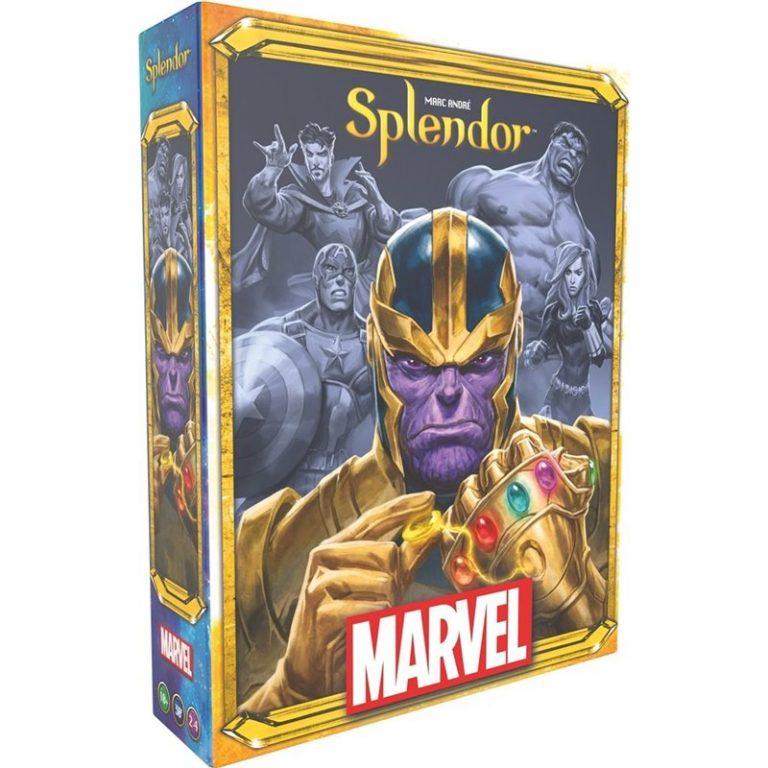 Les Super-Héros de l'univers Marvel à la rencontre de Splendor