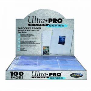 Ultra Pro : 100 feuilles de classeur Silver