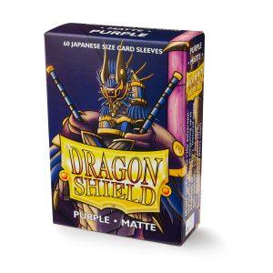 Dragon Shield : 60 sleeves Purple Matte – format japonais