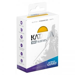 Ultimate Guard Katana Sleeves Standard Size Jaune