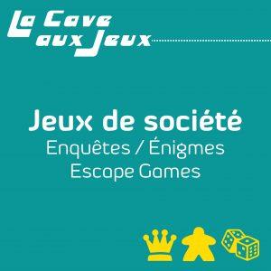 Enquêtes / Énigmes / Escape Games