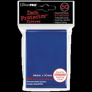 Ultra Pro : 50 sleeves Standard Bleu