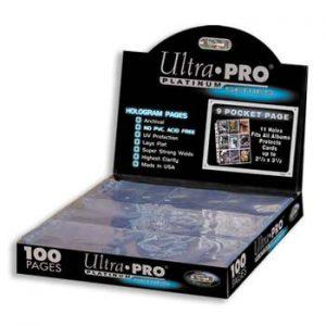 Ultra Pro : 100 feuilles de classeur Platinum