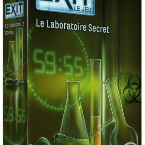 EXIT : Le Jeu – Le Laboratoire Secret